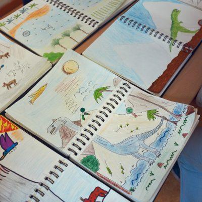 Fantasieren mit Pflanzen und Tieren III – Dinosaurier-Welten