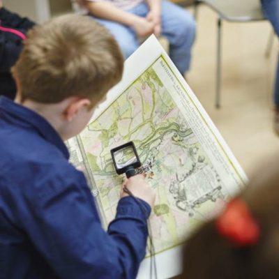 Kinderbuch zur Entstehung der Stadt Halle (Saale) – Erkunden eines alten Stadtplans