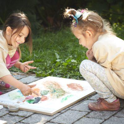 Sommer Sonne Garten – Farben mischen