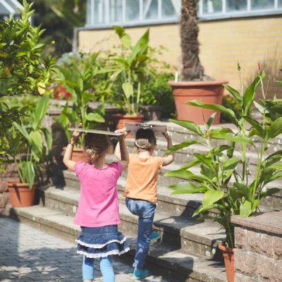 Sommer Sonne Garten – Unterwegs mit Zeichenbrettern