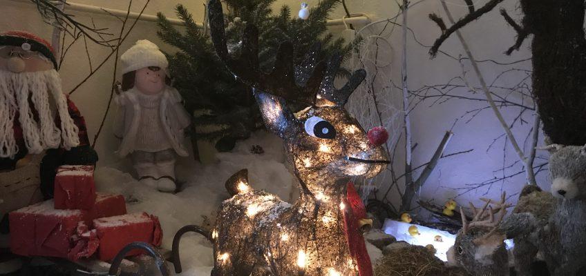 """""""Weihnachtsstübchen"""" in der Kita FrohSinn"""