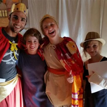 "Kindersingakademie führt Musical ""Ester"" auf"