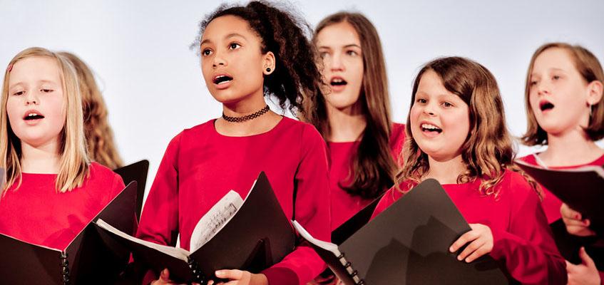 Der Konzertchor der Kindersingakademie der Stadt Halle (Saale) lädt ein