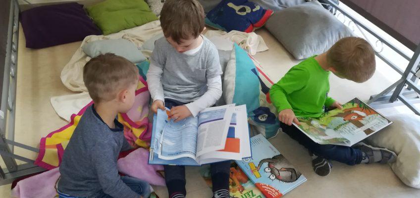 Welttag des Buches in der Sprach-Kita Weltenbummler