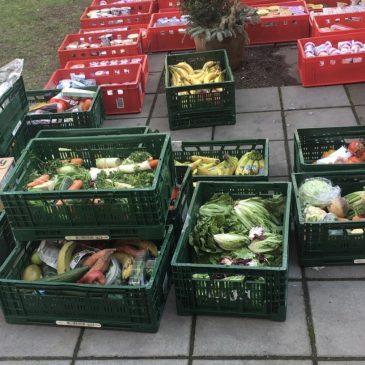 Lebensmittelspenden von Globus