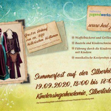 Sommerfest auf der Silberhöhe am 19.09.2020