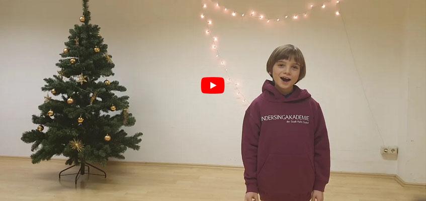 Adventsgruß der Kindersingakademie der Stadt Halle