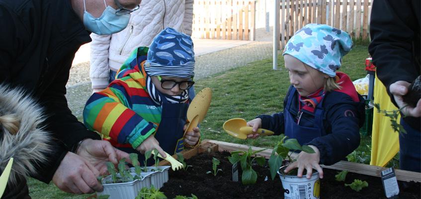 Der KinderGarten der Kita Büschdorf bekommt Verstärkung