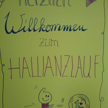 """Hallianz Spendenlauf mit SCHIRM und LABYRINTH + Spendenaktion für """"Lebenshilfehaus"""" in Sinzig"""